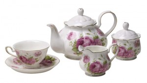 Bone China English Tea Set