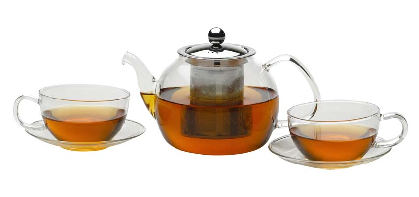 glass teapot set